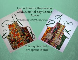 GrubDudz Holiday Combo Aprons