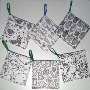 Potholders you can color 1