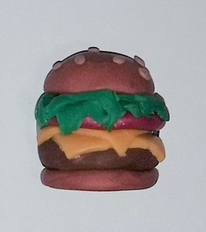 Small Cheeseburger Refrigerator Magnet