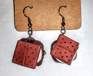 GrubDudz S'mores Earrings