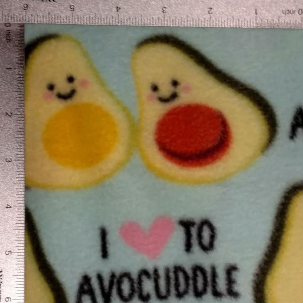 """Avocuddle"" Fleece"