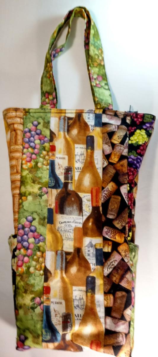 GrubDudz Wine Tote