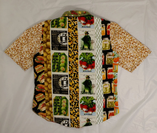 Full view of back of GrubDudz Shirt