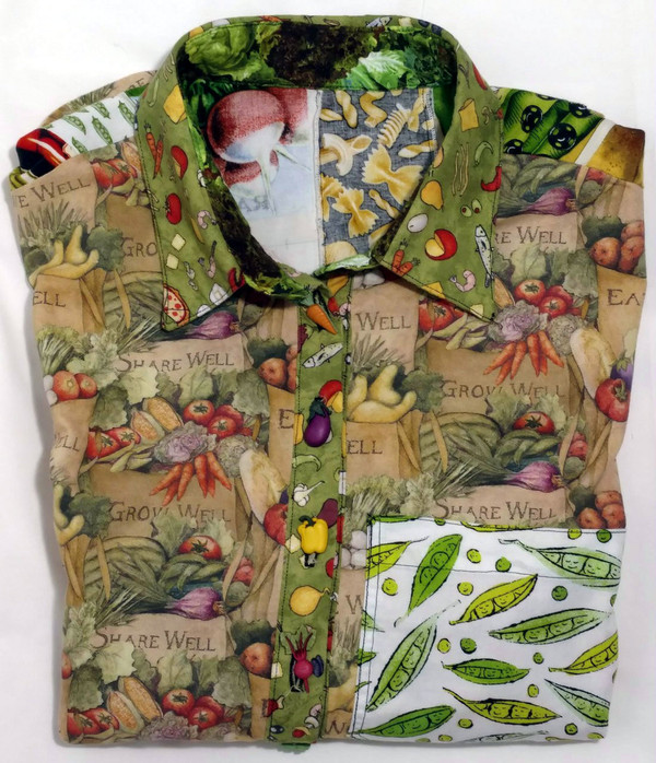 GrubDudz Button-Front Shirts are unique and colorful.