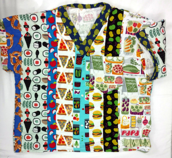 GrubDudz Flannel Scrub Shirts are very warm and comfortable. You can use this scrub shirt as pajamas to stay warm during winter and spring weather changes! These scrubs make a great gift for a family member who works in the medical field. They  can be made with all of the flannel prints available or a limited selection - Please specify your selection of prints when you place your order.
