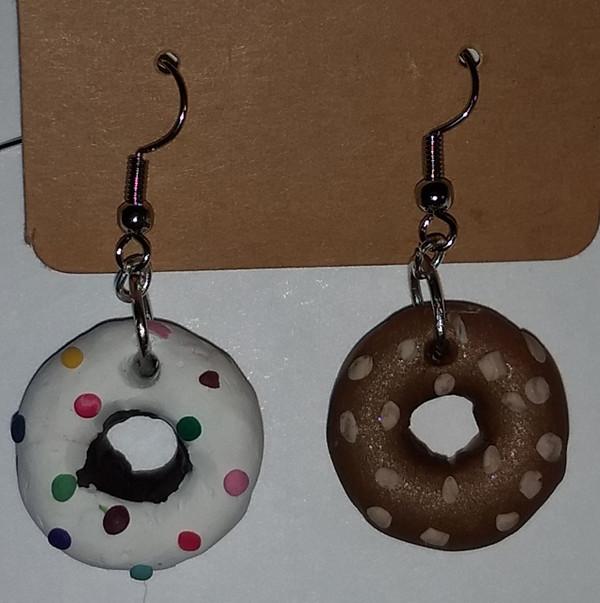 Mixed Iced Doughnuts
