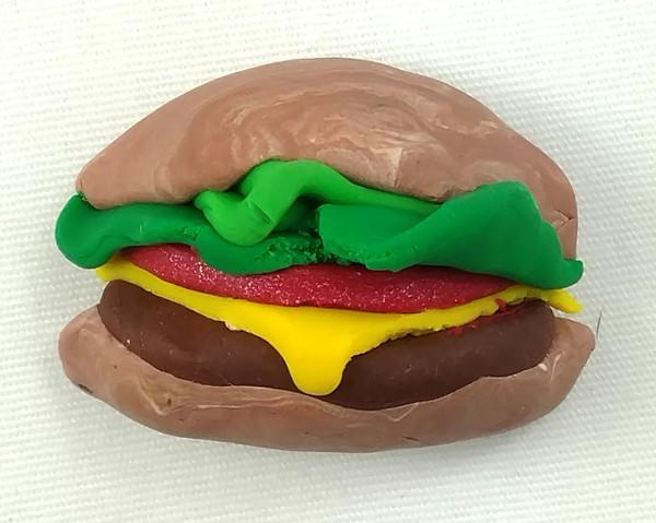 GrubDudz Cheeseburger Magnet