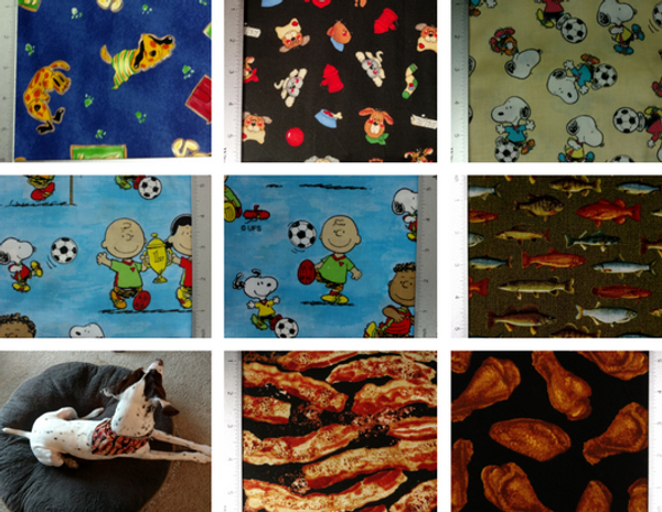 GrubDudz Dog Stocking Fabric Options #1