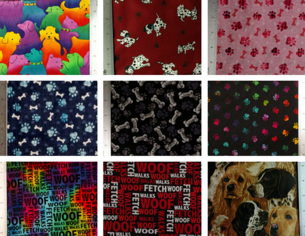 GrubDudz Dog Stocking Fabric Options #2