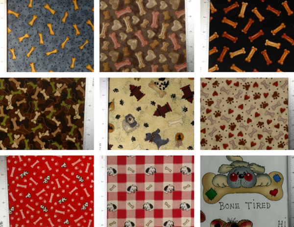 GrubDudz Dog Stocking Fabric Options #3