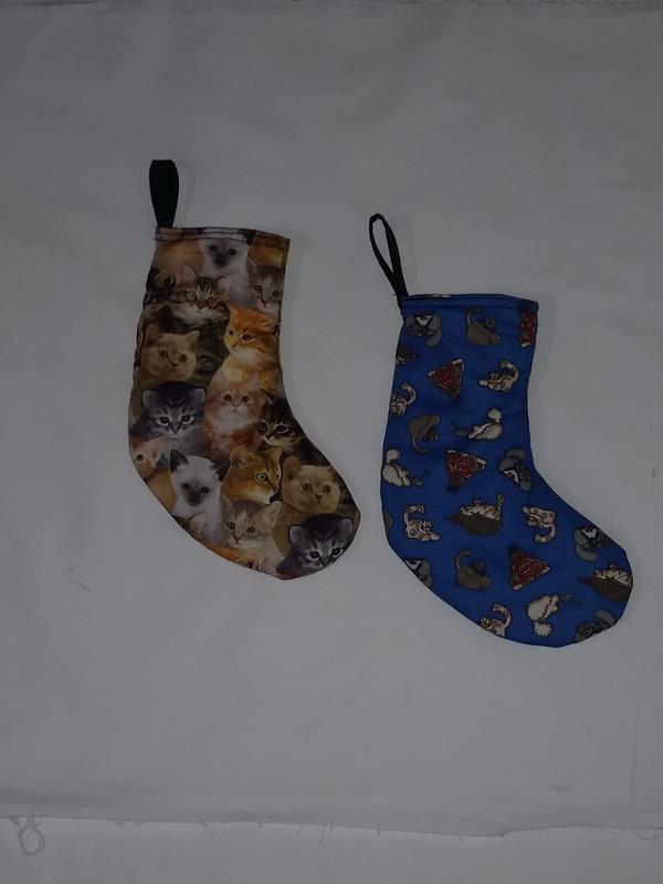 GrubDudz Cat Christmas Stockings