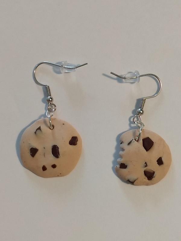 Chocolate Chunk Earrings