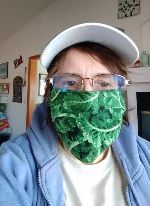 Use of the O-kale Face Mask