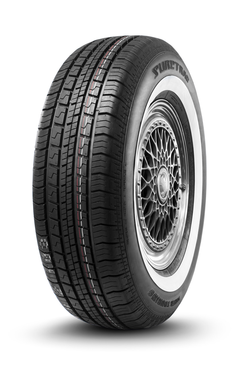 Suretrac  Powertouring  White Sidewall  Tires