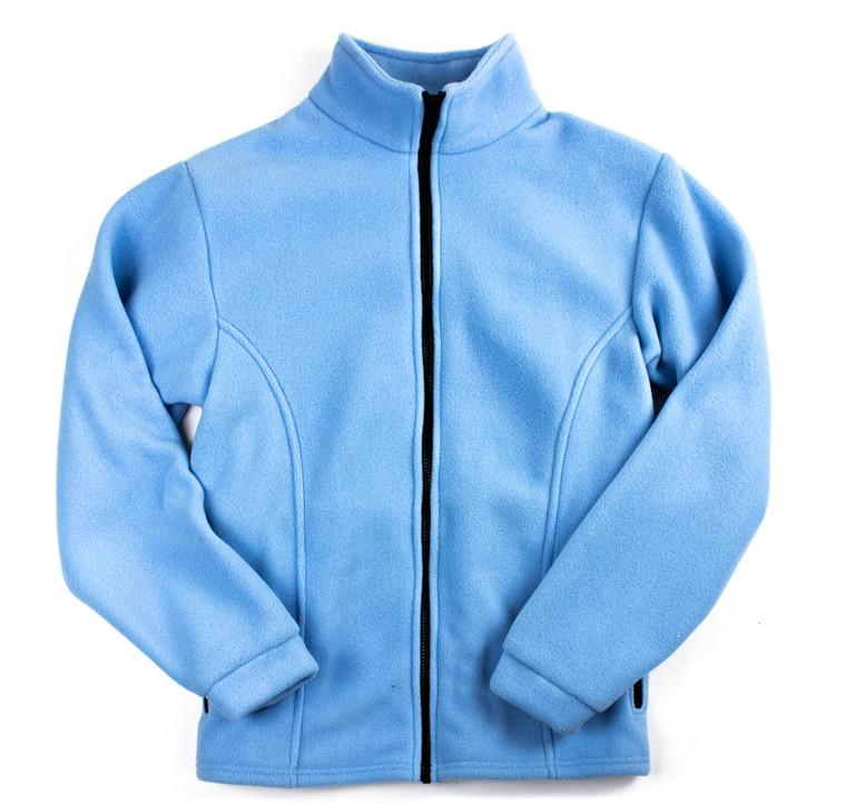 Blue Fleece Women's Jacket Made in USA