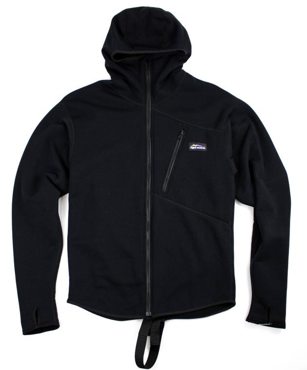 Black Polartec Powerstretch Jacket