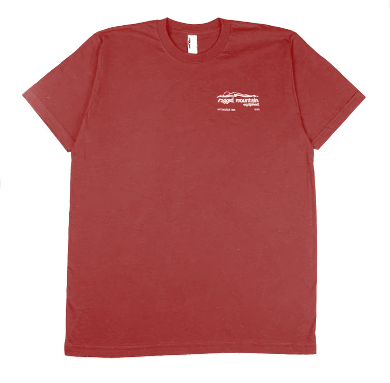 New Hampshire 4000 Footer Tee Shirt Red