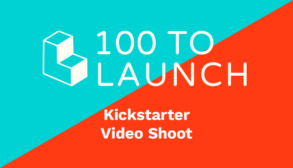 100 To Launch - Kickstarter Video Shoot