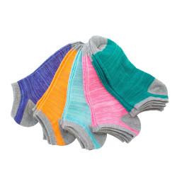 Reverse Color Havoc Anklet Socks 10 pair pack #10047 / Women's
