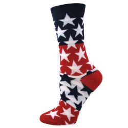 Women's USA Big Stars Socks