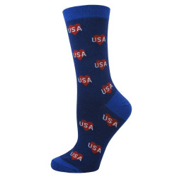 USA Hearts Socks / Women's