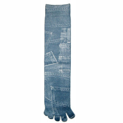 Kid's Denim Pockets Toe Socks
