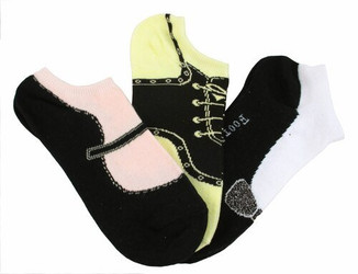 Shoe No-Shows 3-pair pack / Women's