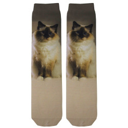 Birman Cat Sublimation Tube Socks