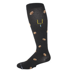Men's Dr. Motion Football Knee High Compression Socks