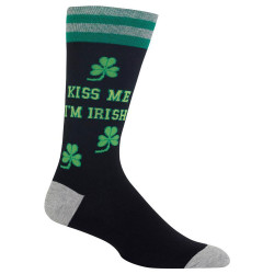 Men's Kiss Me I'm Irish Crew Socks
