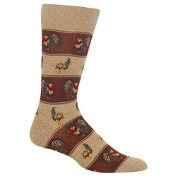 Men's Turkey Fairisle Crew Socks
