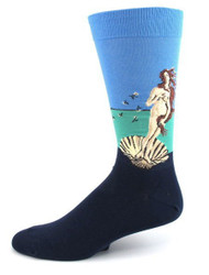 Men's Birth of Venus Crew Socks