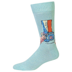 Men's Goldfish & Sculpture Crew Socks