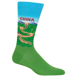 Men's China Crew Socks