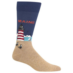 Men's Maine Crew Socks
