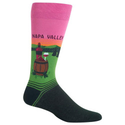 Men's Napa Valley Crew Socks
