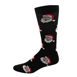 Men's Santa Faces Christmas Socks