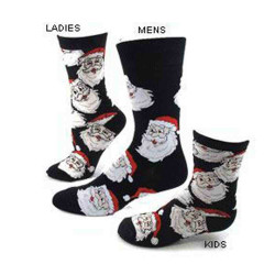 Women's Jolly Santa Christmas Socks