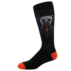 Men's Boxer Crew Novelty Socks