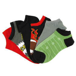 Kids Multicolor Assorted Socks 6 Pair Pack