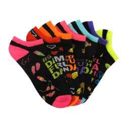 Women's Days of the Week Ankle Socks Six Pair Pack