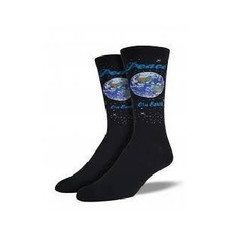 Men's Peace On Earth Crew Novelty Socks