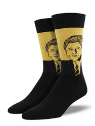 Men's Clinton Crew Novelty Socks