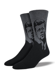 Men's JFK Crew Novelty Socks