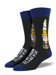 Men's Coronavidad Crew Novelty Socks