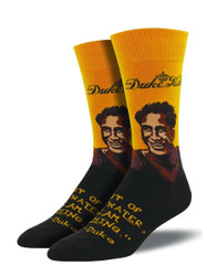 Men's Duke Portrait Crew Novelty Socks