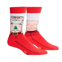 Men's Saint Nick Christmas Socks