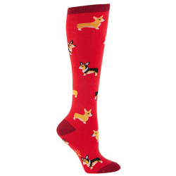 Women's Corgi Knee High Socks