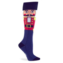 Women's & Kids Nutcracker Christmas Knee High Socks