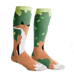 Women's Foxy Ladies Wide Calf Knee High Socks
